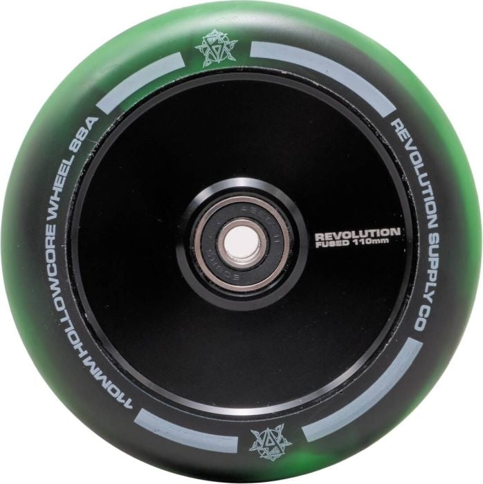 Revolution Hollowcore 110 Wheel Fused Green