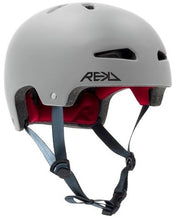 Afbeelding in Gallery-weergave laden, REKD Ultralite In-Mold Helmet Grey - Stuntstep