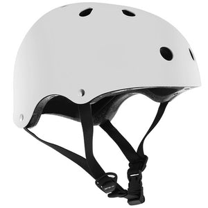 SFR Essentials Gloss White Helmet S/M - Stuntstep