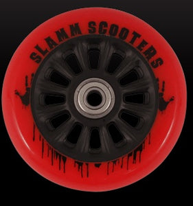 Slamm 100 mm Black/Red + ABEC 7 - Stuntstep