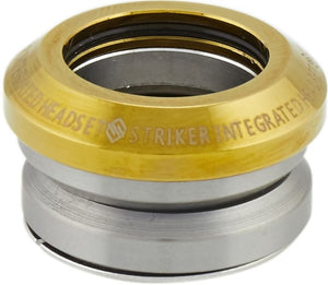 Striker Integrated Headset Gold Chrome