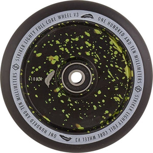 Striker Lighty Full Core V3 110 Wheel Green Splash