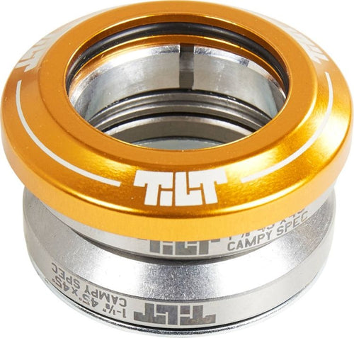 Tilt Integrated Headset Gold
