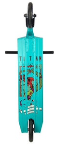 District Titan Stuntstep turquoise 84,5 cm ⭐⭐⭐⭐
