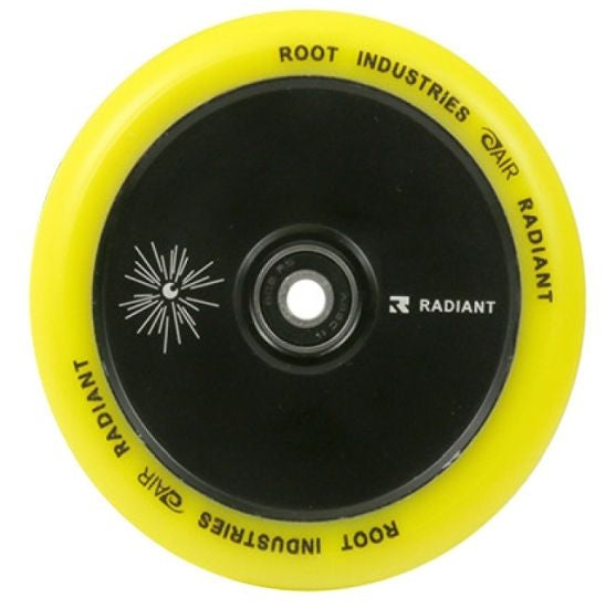 Root Industries Air Radiant Wheel 110 Yellow - Stuntstep