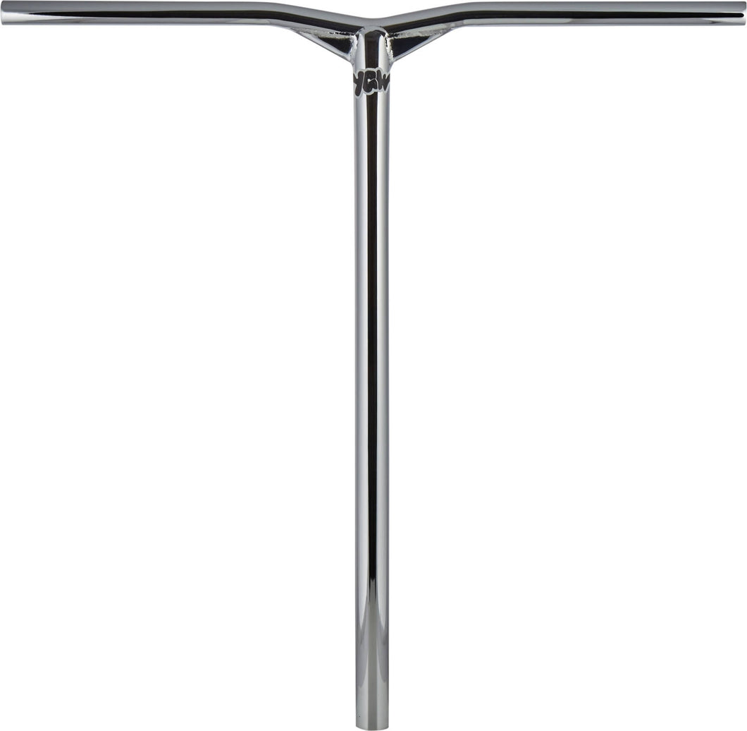 YGW Flight Oversized Bars Chrome - Stuntstep