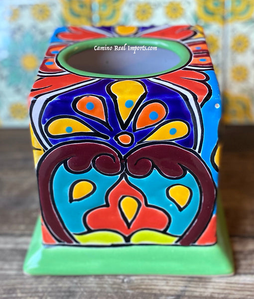 Talavera Tissue box Cover TTB015