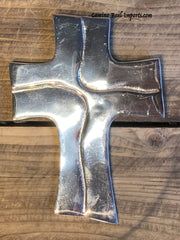 Wall Hanging Pewter Cross Decor MCP018