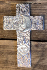 Wall Hanging Pewter Cross Decor MCP016