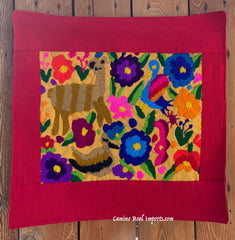 Guatemala Pillow Cover Embroidered On Huipil Pillow Case GCP017