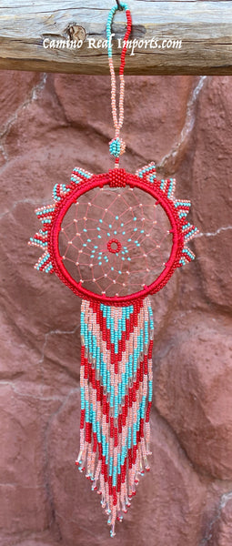 HAND MADE BEADED DREAM CATCHER BDC001