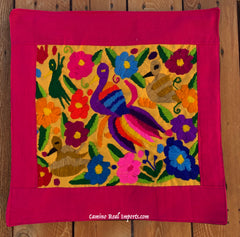 Guatemala Pillow Cover Embroidered On Huipil Pillow Case GCP013