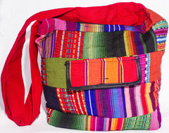 GUATEMALA PURSE HAND EMBROIDERED HOBO BAG X-LARGE GPL002