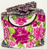 GUATEMALA PURSE HAND EMBROIDERED FLOWERS BAG X-LARGE GPL009