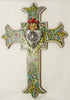 Hand Made Mexican Folk Art Cross  LWC002