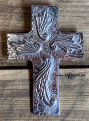 Wall Hanging Pewter Cross Decor MCP014
