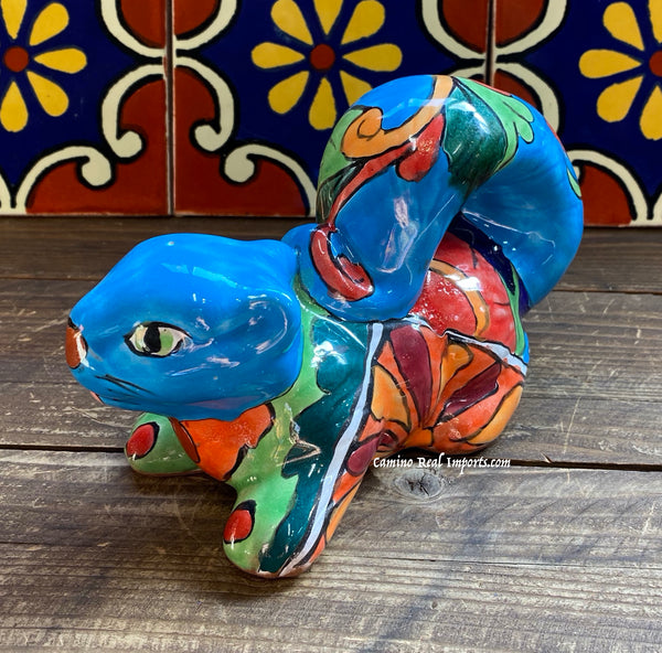 Mexican Talavera Pottery Squirrel TSQ002