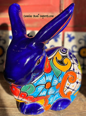 Talavera Bunny/Rabbit Garden Decor TBD11004