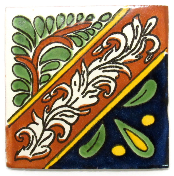 "Mexican Tile 4""  T4001"