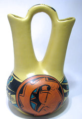 SOUTHWEST STYLE WEDDING VASE KOKOPELLI NCW001