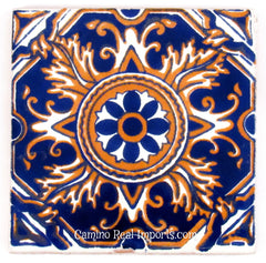 "Mexican Tile 4""  T4002"
