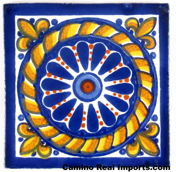 "Mexican Tile 4""  T4004"