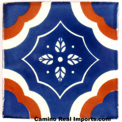 "Mexican Tile 4""  T4005"