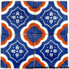 "Hand Painted Mexican Tile 4""x4"" Caminorealimports.com"