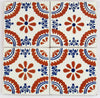 "Mexican Tile 4""  T4008"