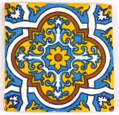 "Mexican Tile 4""  T4009"
