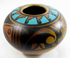 Southwest decor Clay Vase NC004