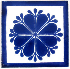 "Mexican Tile 4""  T4013"