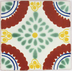 "Mexican Tile 4""  T4014"