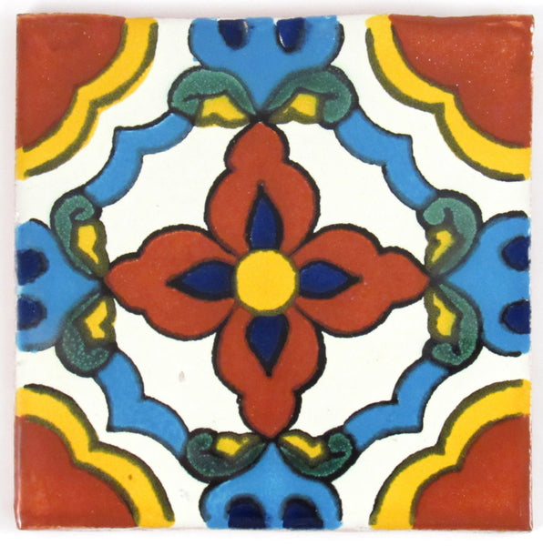 "Mexican Tile 4""  T4016"