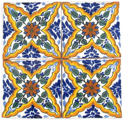 "Mexican Tile 4""  T4017"