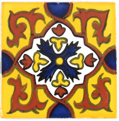 "Mexican Tile 4""  T4018"