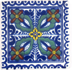 "Mexican Tile 4""  T4020"