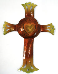 Wall Hanging Metal Cross Decor MCL004