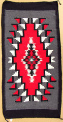 "SOUTHWEST MEXICAN RUG 30"" X 60"" Navajo Design NVR002"