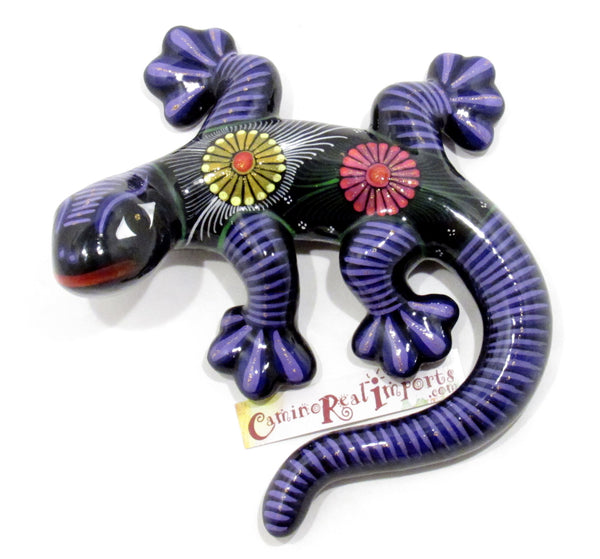 Hand Painted Clay Gecko Lizard GGLM010