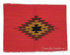 "ZAPOTEC RUG PLACE MAT  17"" X 22""  ZPM001"