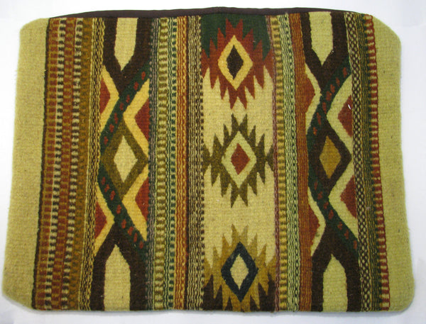 ZAPOTEC RUG PILLOW COVER 100% WOOL HAND WOVEN PCZ004