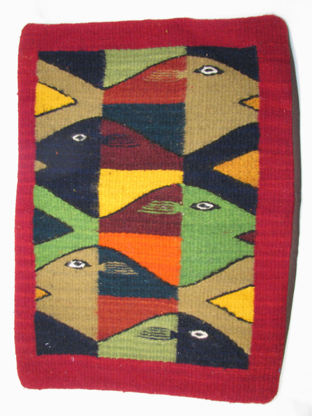 Zapotec Rug Pillow Cover 100 Wool Hand Woven Pcz005
