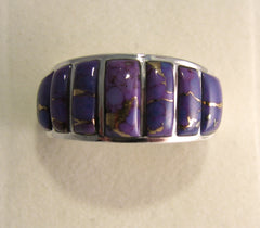 Sugilite Ring Sterling Silver   size 8 TSC039