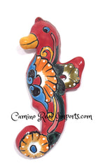"Talavera Wall Decor Sea Horse 10.5"" TWSH002"