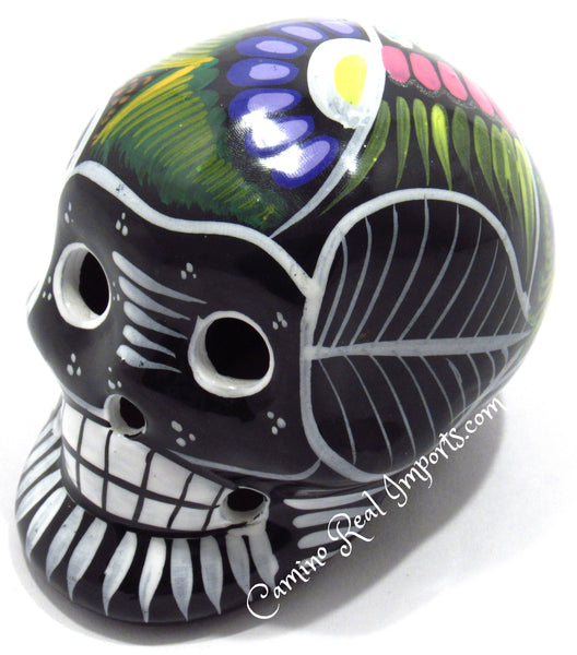 Day Of The Dead Hand Painted CaminoRealImports.com