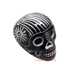 Day Of The Dead Hand Painted 3'' Skull MCSSM007