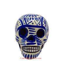 Day Of The Dead Hand Painted 3'' Skull MCSSM006