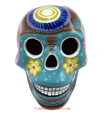 Day Of The Dead Hand Painted Skull MCS010