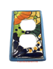 MEXICAN TALAVERA POTTERY DOUBLE OUTLET SWITCH PLATE TDSP032